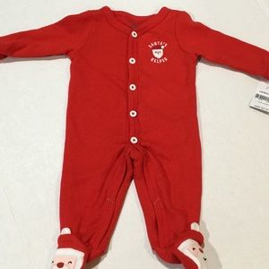 Carter's Baby Boy Christmas Snap-up Thermal One PC